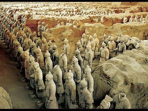 Thaiiptv : สวัสดีเมืองจีน 兵马俑  รูปปั้นหุ่นทหาร