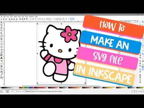 How To Use Inkscape To Convert Image To SVG
