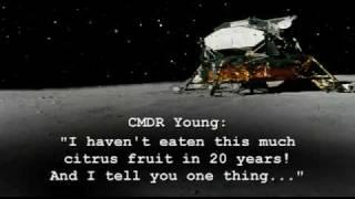 Farting on the Moon - Apollo 16