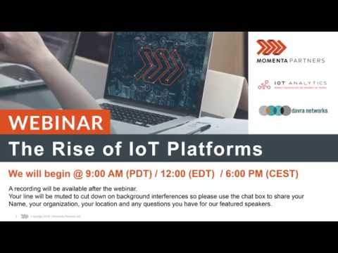 The Rise of IoT Platforms