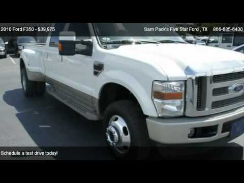 2010 ford f350 king ranch for sale in carrollton tx 75006 youtube. Black Bedroom Furniture Sets. Home Design Ideas