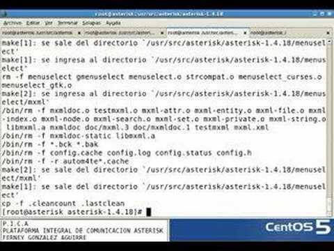 Compilar asterisk centos linux [1/5]