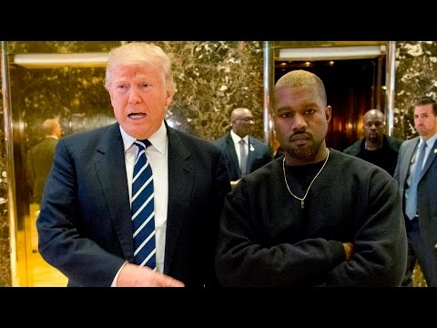 Donald Trump meets with Kanye West at Trump Towers