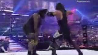 WWE Wrestlemania 22 The Undertaker vs Mark Henry casket match highlight 2006