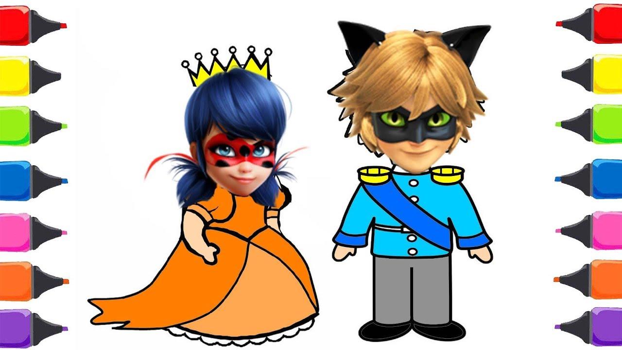 Mucize Ugur Bocegi Ile Kara Kedi Prens Prenses Boyama Renkleri