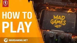 WoT Blitz. Mad Games Event. Full Guide