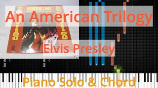 🎹Solo & Chord, An American Trilogy, Elvis Presley, Synthesia Piano