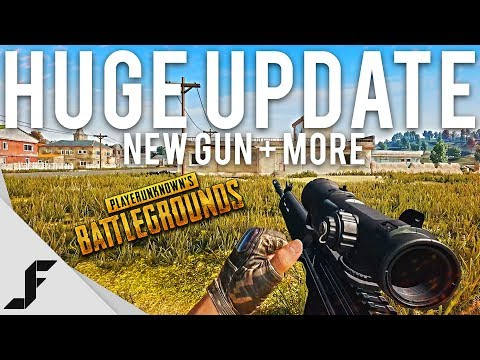 NEW GUN + HUGE UPDATE - PUBG ( Playerunknown's Battlegrounds )