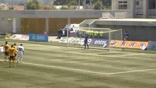 Penal tapado por Fernando DePaul San Luis 4-1 Santiago Morning