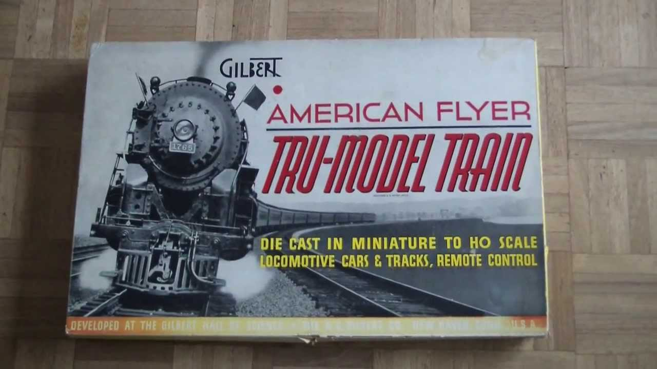 gilbert american flyer h0 nyc train set