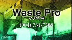 Jacksonville Garbage Collection Waste Pro