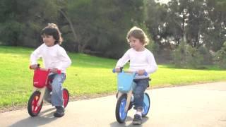 Hip Kids Wooden Balance Bike   Childrens Balance Bikes