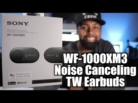 Sony WF-1000XM3 ANC Truly Wireless Earbuds| Full Review