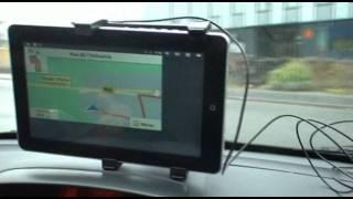 Flytouch6 Flytouch7 Superpad 6 Superpad V10 test GPS navigation iGo