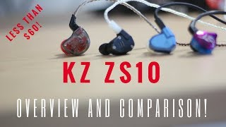 KZ ZS10 5-Driver In-Depth Review and Comparison! ZS5, ZS6 & ZST