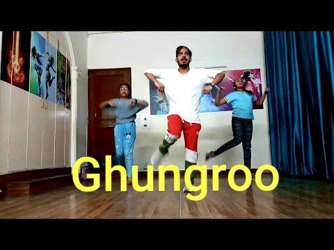 ghungroo-song-|-war-|-hrithik-roshan-|-vaani-kapoor-|-arijit-singh-|-choreography-by-vikram-|-tansen