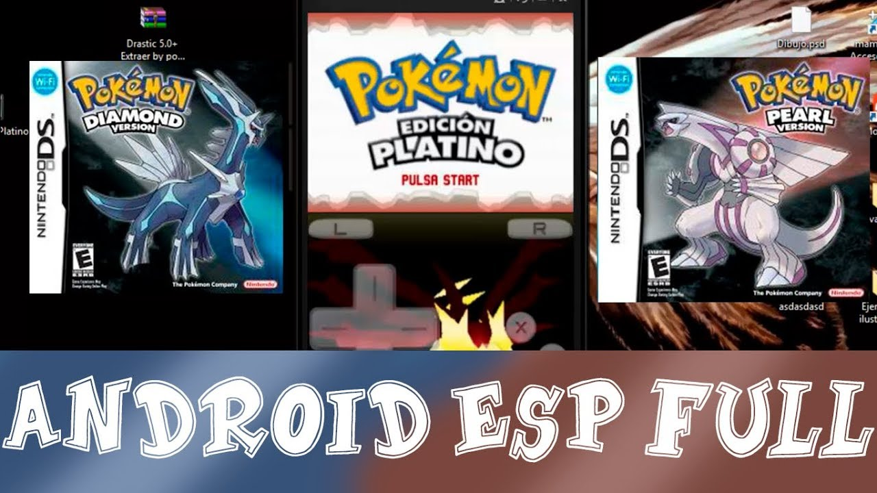 descargar pokemon platino para android drastic