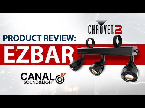 Event Lighting Product Review Of The Chauvet DJ EZbar At Canal Sound And Light