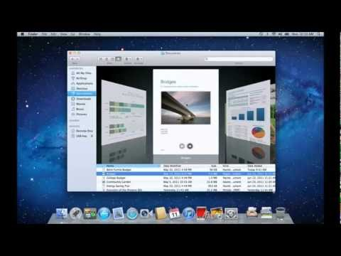 Mac OS X: PC to Mac - The Basics