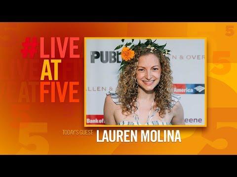 Broadway.com #LiveatFive with Lauren Molina of DESPERATE MEASURES