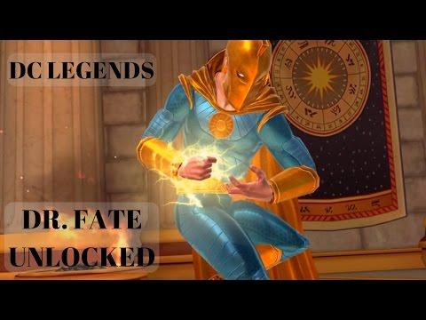 DC Legends Dr. Fate Unlocked