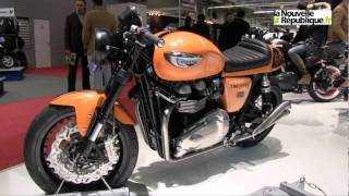 Plein les mirettes au Salon de la moto