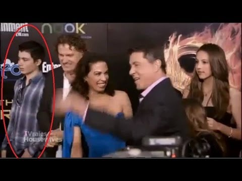The Hunger Games Killer Elliot Rodger on the red carpet for Hunger Games Premiere 2012