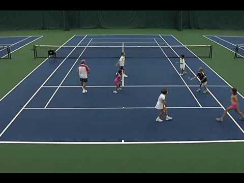 QuickStart Tennis - Ages 9 & 10: 2-Ball Toss