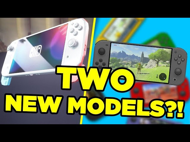 TWO Nintendo Switch Models LEAK Ahead Of E3 2019