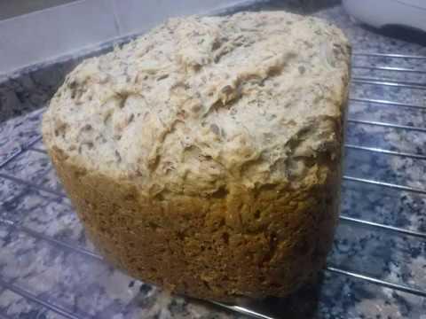receta pan integral para horno atma