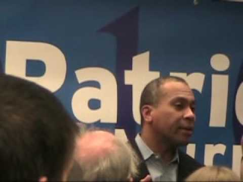Patrick/ Murray 2010 pt 3: Governor Deval Patrick MA D first half