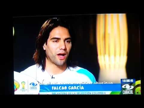 Falcao, entrevista.