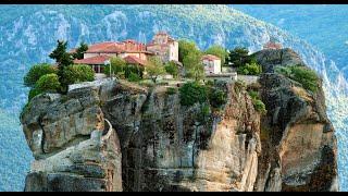 KALAMPAKA - #METEORA bike trip (full route) - #Greece