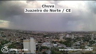 Avanço de chuva em Juazeiro do Norte / CE - 22/10/20
