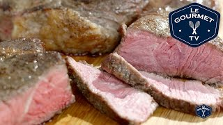 How to cook Sous-Vide Steak Recipe - LeGourmetTV