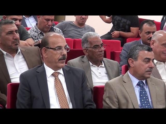 بعض المتحدثين في الحفل التكريمي للدكتور مهدي العلاق (٢)