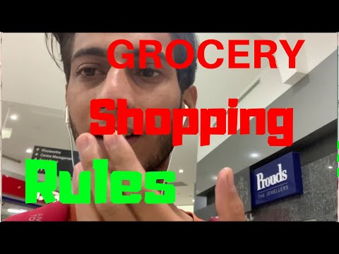 GROCERY | RULES | SHOPPING