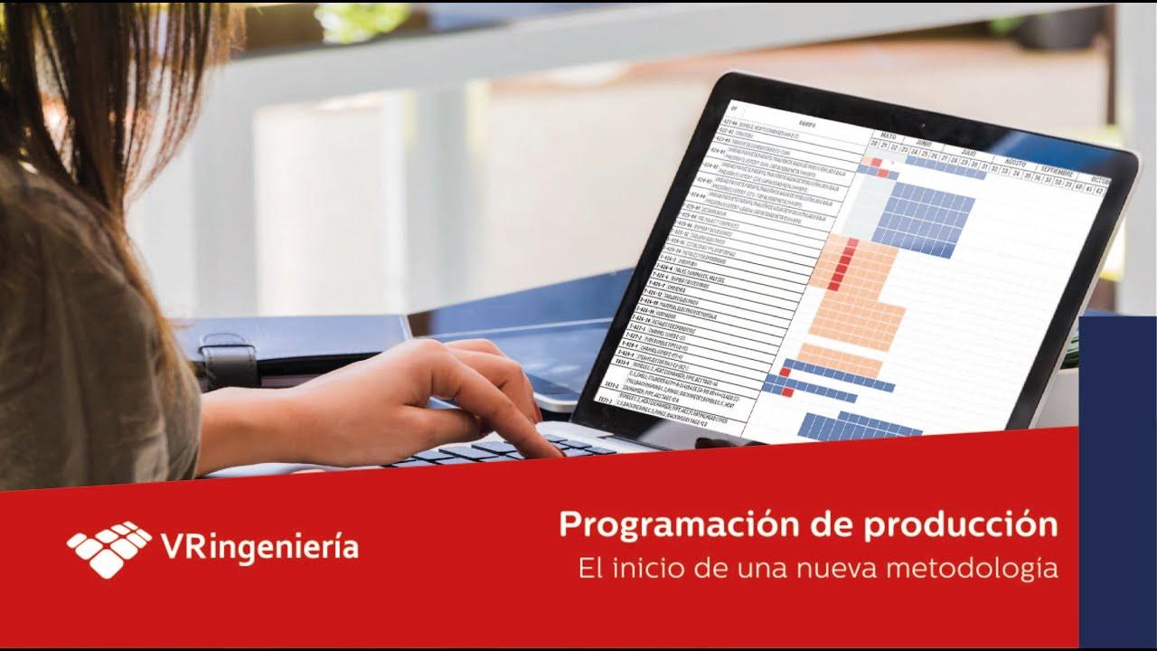 Programación de producción: El inicio de una nueva metodología.