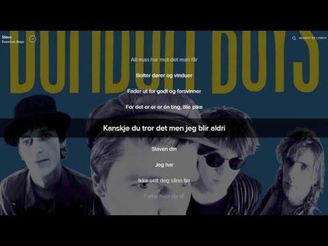 DumDum Boys - Slave (lyrics)