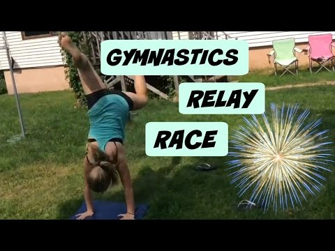 GYMNASTICS RELAY RACE | Our Gymnast Life