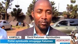 Poliisi eyimbudde omugagga Katumwa