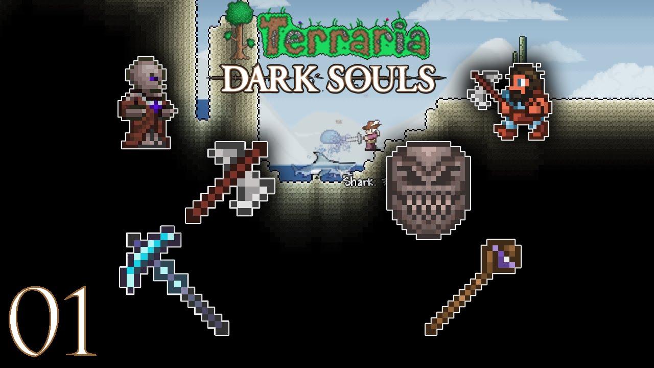 Dark souls мод для terraria скачать