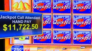 HIGH LIMIT  QUICK HIT FEVER  ★★ BIGGEST FEVER BONUS ON YOUTUBE!!!! [SHOWING POTENTIAL]