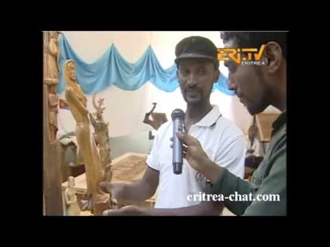 EriTV Interview with Exhibitionist in Expo Festival Eritrea 2015