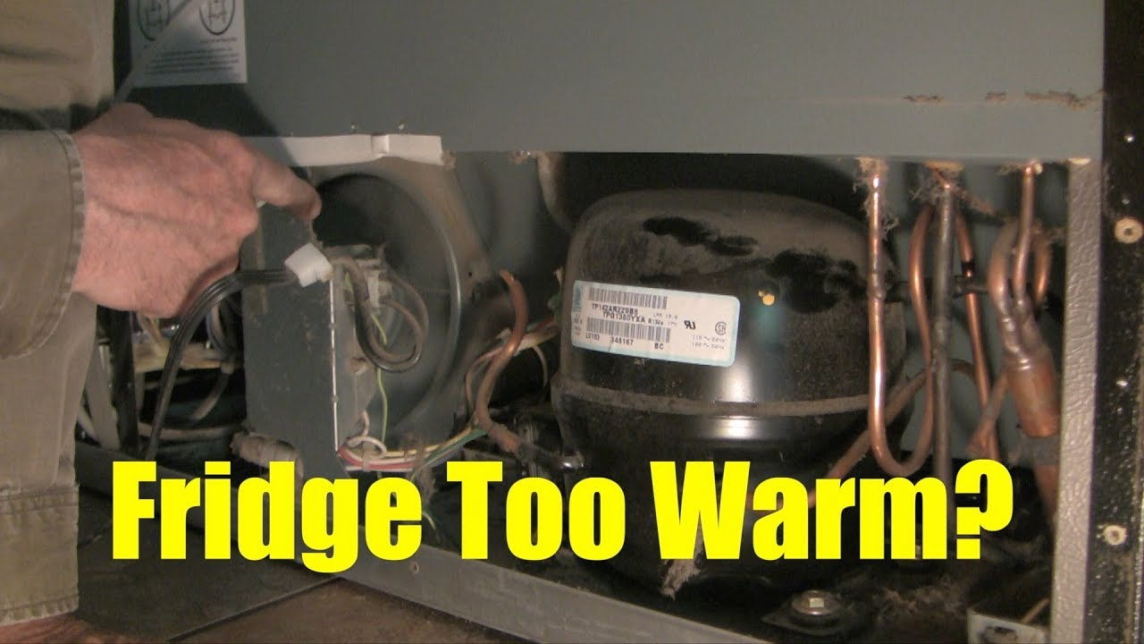 How To Investigate And Fix A Fridge That Is Too Warm Youtube