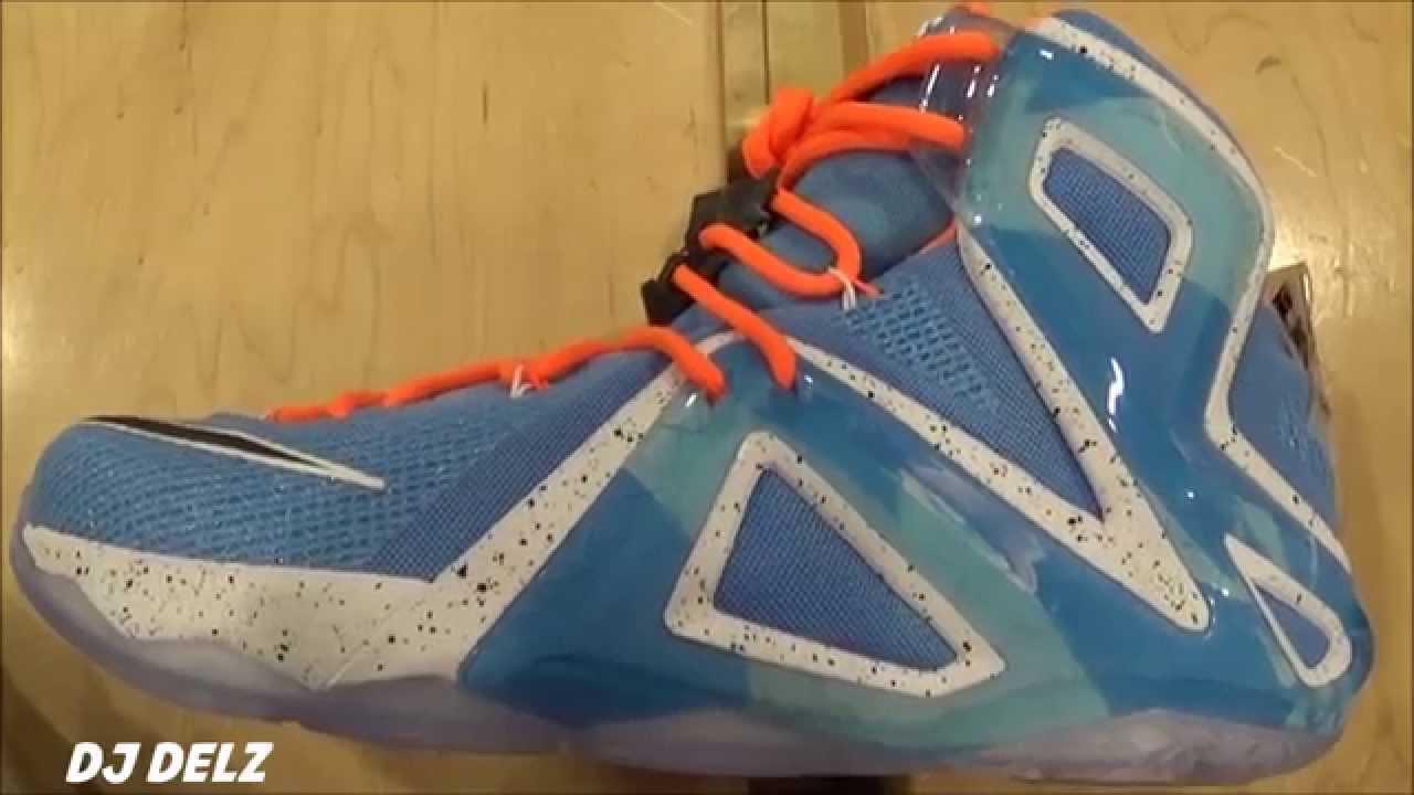 7c692cfcdb1 Nike Lebron 12 Elite Elevate Sneaker Review With  DjDelz  HotOrNot ...