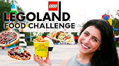Ultimate LEGOLAND Food Challenge: Trying All Of The Park Treats