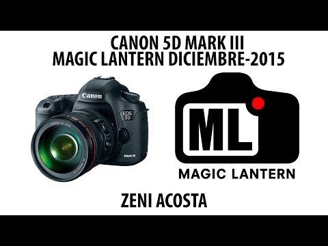 COMO INSTALAR MAGIC LANTERN VERSION DICIEMBRE 2015 EN CANON 5D MARK III