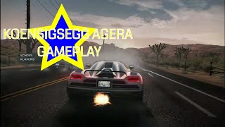 KOENIGSEGG AGERA:FASTER THAN LIGHT RACE- NEED FOR SPEED HOT PURSUIT(2010)