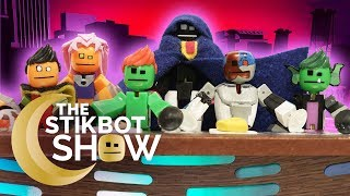 The Stikbot Show | Teen Titans Go! Read Mean Comments!!